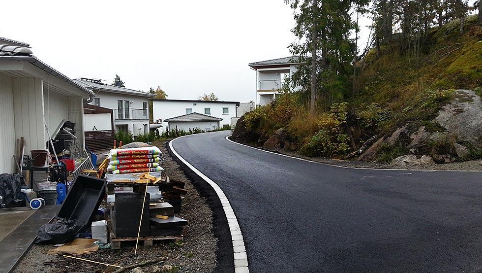 asfaltering efter