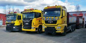 asfaltläggarna bilar