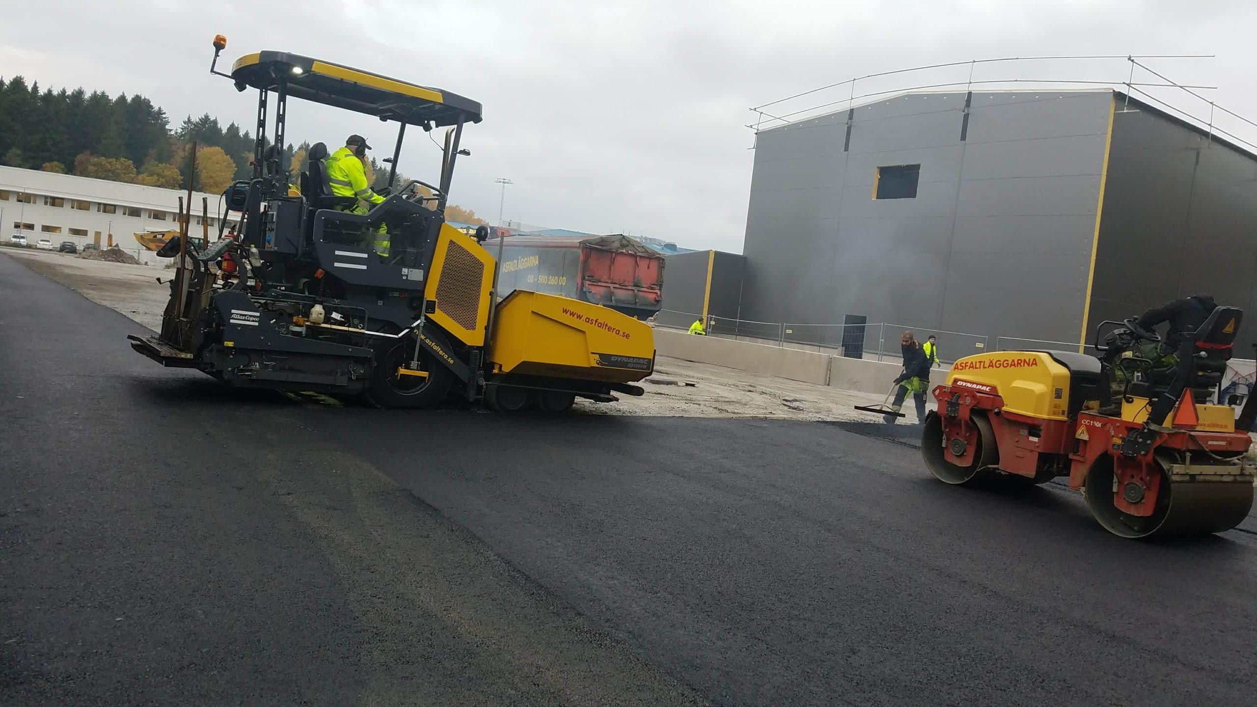 asfaltering stockholm